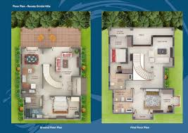 floor plan revata an residential project at goa