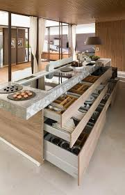 ilot central table cuisine 45 idées en photos pour bien choisir un îlot de cuisine