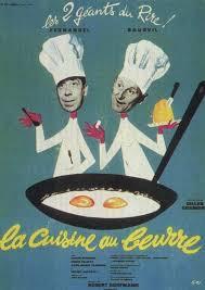 affiches cuisine affiches et pochettes la cuisine au beurre de gilles grangier
