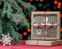 Wooden Toy Christmas Tree Decorations - wooden tree decorations wood snowflake christmas decor wood