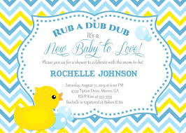 duck baby shower invitations duck baby shower invitation rubber duck ba shower invitations