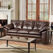 North Shore Dark Brown Sofa Leather Living Room Sofas Ashley North Shore Living Room Set