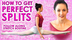 Challenge How To Splits Flexibility Stretch Challenge How To Do The Splits