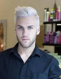 haircuts for white hair next white hair men mode homme pinterest white hair and