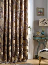 Peacock Curtains Precision Jacquard Curtains Peacock Feather Yarn Luxury Floral