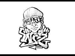 drawing graffiti wiz and a character youtube