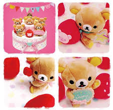rilakkuma plush cake cute kawaii blog everything kawaii cute