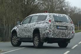 mitsubishi pajero sport 2017 2016 mitsubishi pajero sport slated for summer debut autoevolution