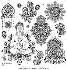Indian Art Tattoo Designs 1000 Ideas About Hindu Symbols On Pinterest Symbol For