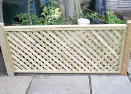 Diamond Trellis Panels Fence Panels Empress Fencing Clitheroe Lancashire