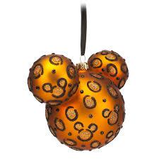 mickey icon ornament cheetah shopdisney