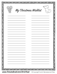 List Template Best Free Printable Christmas Wish List Template Pictures Office