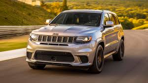 trackhawk jeep black 2018 jeep grand cherokee trackhawk first drive hellcat all the things