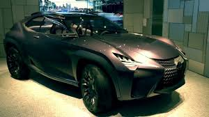 lexus ux model japan u0027s first exhibition lexus ux concept at intersect by lexus