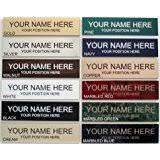 Desk Name Plates With Business Card Holder Amazon Com Personalized Business Desk Name Plate With Card Holder