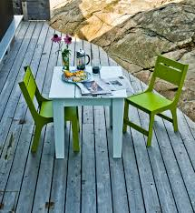 modern outdoor dining table patio dining chair for the modern lollygagger loll designs