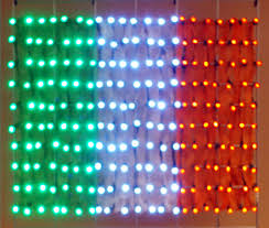 Customize Your Own Flag St Patrick U0027s Day In Three Irish Colors Holiday Led Lighting