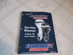 1996 evinrude johnson 8 9 9 15 hp four stroke outboard service