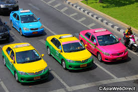 Colors Of Spains Flag 10 Things You Should Know When Taking A Taxi In Bangkok Taxis In