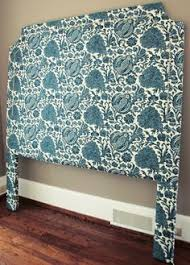 Diy Fabric Headboard by How To Upholster A Headboard With Nail Head Trim Nail Head Diy