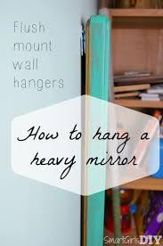 hanging mirror on plaster wall u2022 bathroom mirrors and wall mirrors