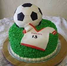 soccer cake ideas chocolate cake with buttercream grass fondant covered soccer