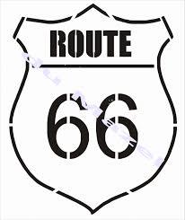deco route 66 pochoir