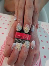 simple bridal nail art design youtube nail design for wedding