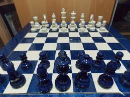 furniture vivacious coolest chess sets amazon with blue color and