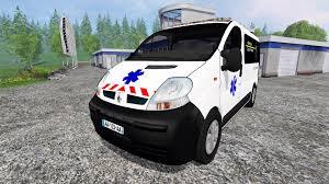 renault trafic 2016 renault trafic ambulance for farming simulator 2015