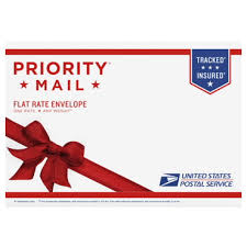 gifts to send in the mail priority mail gift card flat rate envelope usps