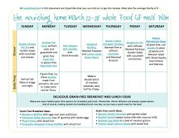 bi weekly meal plan for march 15 u201328 u2014 the better mom