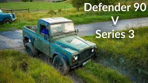 land rover series 3 off road land rover defender 90 vs series 3 off road challenge youtube