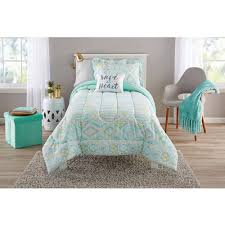jc penney girls bedding teen girls bedding twin mint green tribal ikat comforter set kids