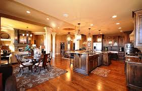 open concept floor plans kitchen and family room indoor outdoor image of awesome open concept floor plans