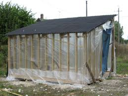 get plastic sheet for shed roof backyard shed