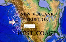 Oregon Fires Map 5 01 2015 Volcano Erupts Off West Coast Of Oregon Nearby