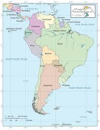 Amazon River World Map by Choose A Destination Latin American Escapes