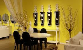 yellow paint walls living room bright yellow wallpaper decoration