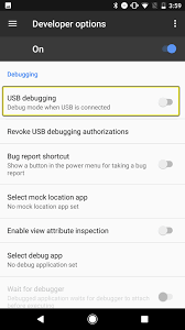 sample bug report 2 set up your android device unreal engine