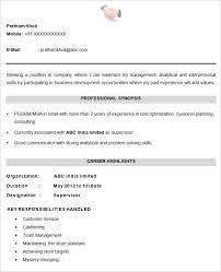 resume format downloads cv templates 61 free sles exles format free