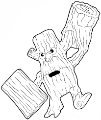 sandy cheeks coloring pages how to draw stump smash from the game skylanders with easy step by