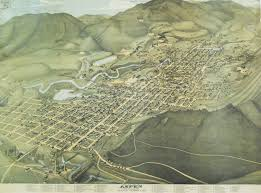 Aspen Map Antiquemaps Fair Map View A Koch View Of Aspen Colorado