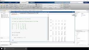 making a matrix in a loop in matlab stuart u0027s matlab videos