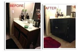 how to refinish bathroom cabinets refinish bath vanity bathrooms bathroom cabinets for repaint