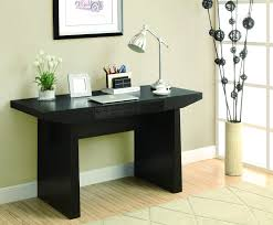 modern black computer desk white painted wooden corner computer desk decor with shaded table