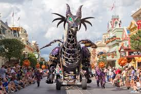 first photo fire breathing dragon parade float arrives at
