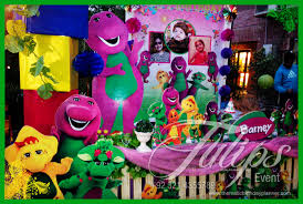 Barney Toddler Party ideas in Lahore Pakistan