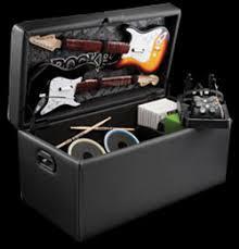 Rock Band Ottoman Rock Band Storage Ottoman Debuts From Levelup Slashgear