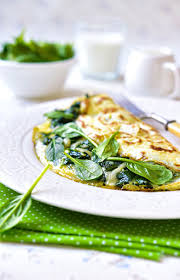 bariatric soft food diet spinach and feta cheese omelet